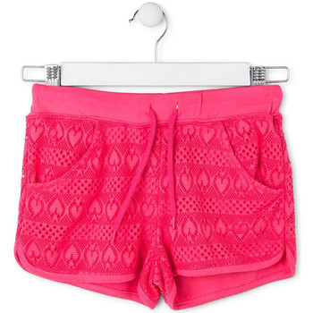Kleidung Mädchen Badeanzug /Badeshorts Losan 714 6010AB Rosa