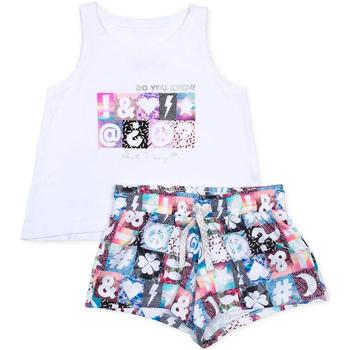 Kleidung Mädchen Kleider & Outfits Losan 714 8000AB Weiß