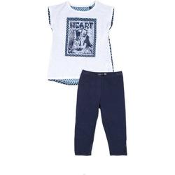 Kleidung Mädchen Kleider & Outfits Losan 714 8002AB Blau