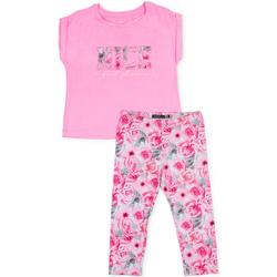 Kleidung Mädchen Kleider & Outfits Losan 714 8004AB Rosa