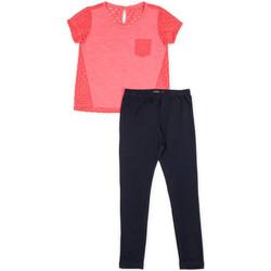 Kleidung Mädchen Kleider & Outfits Losan 714 8008AB Rosa