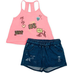 Kleidung Mädchen Kleider & Outfits Losan 714 8010AB Rosa
