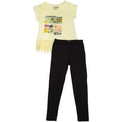 Kleidung Mädchen Kleider & Outfits Losan 714 8018AB Gelb