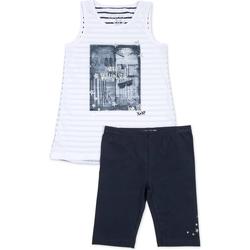 Kleidung Mädchen Kleider & Outfits Losan 714 8042AB Blau