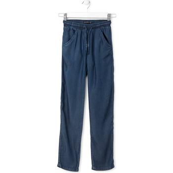 Kleidung Kinder Straight Leg Jeans Losan 714 9013AB Blau