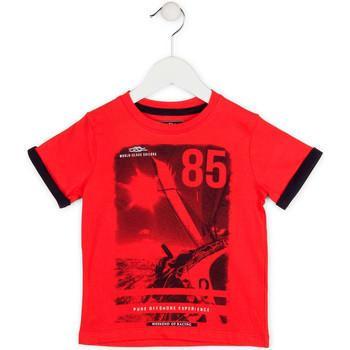 Kleidung Jungen T-Shirts Losan 715 1001AC Rot