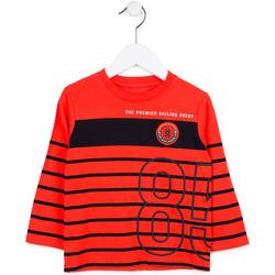 Kleidung Kinder Pullover Losan 715 1002AC Rot
