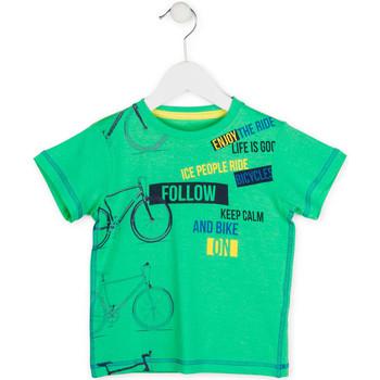 Kleidung Jungen T-Shirts Losan 715 1014AC Grün