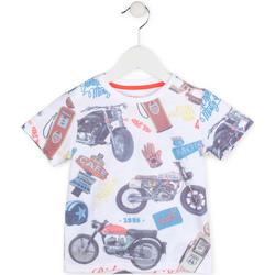 Kleidung Jungen T-Shirts Losan 715 1017AC Weiß