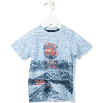 Kleidung Jungen T-Shirts Losan 715 1018AC Blau
