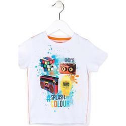 Kleidung Jungen T-Shirts Losan 715 1023AC Weiß
