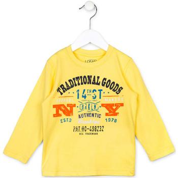 Kleidung Kinder Pullover Losan 715 1208AC Gelb