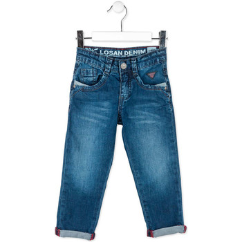 Kleidung Kinder Straight Leg Jeans Losan 715 9016AC Blau