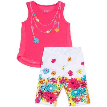 Kleidung Mädchen Kleider & Outfits Losan 716 8002AD Rosa