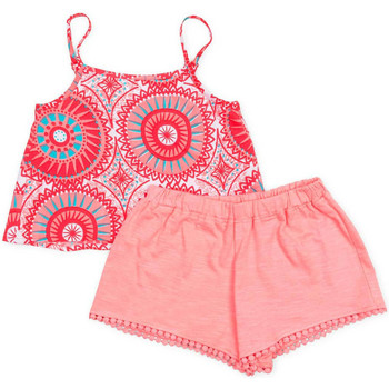 Kleidung Mädchen Kleider & Outfits Losan 716 8009AD Rosa
