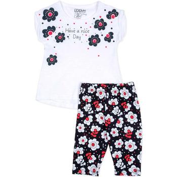 Kleidung Mädchen Kleider & Outfits Losan 716 8012AD Weiß