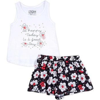 Kleidung Mädchen Kleider & Outfits Losan 716 8013AD Weiß