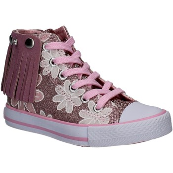 Schuhe Mädchen Sneaker High Lulu LV010072S Rosa