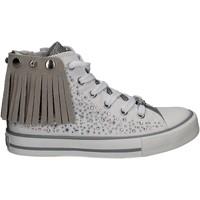 Schuhe Mädchen Sneaker High Lulu LV010072S Weiß