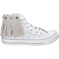 Schuhe Mädchen Sneaker High Lulu LV010074T Weiß