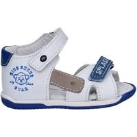 Schuhe Kinder Sandalen / Sandaletten Melania ME0813A7E.B Weiß