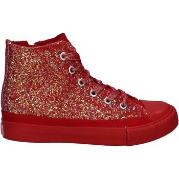 Schuhe Mädchen Sneaker High Lulu LV010077S Rot