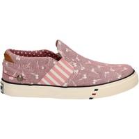 Schuhe Mädchen Slip on Wrangler WG17121 Rosa