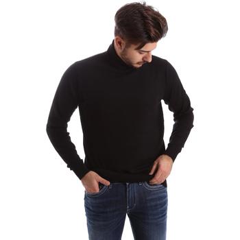 Kleidung Herren Pullover Gas 561820 Schwarz