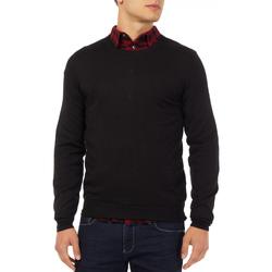 Kleidung Herren Pullover Gas 561882 Schwarz