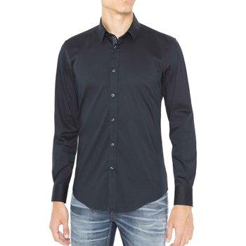 Kleidung Herren Langärmelige Hemden Antony Morato MMSL00415 FA450001 Blau
