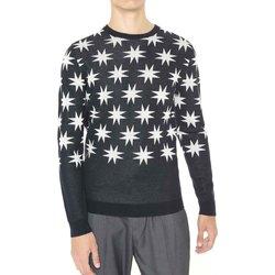 Kleidung Herren Pullover Antony Morato MMSW00742 YA400006 Schwarz