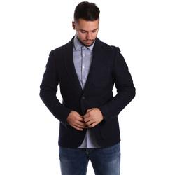 Kleidung Herren Jacken / Blazers Antony Morato MMJA00322 FA500034 Blau