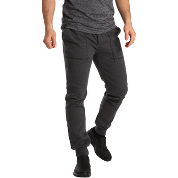 Kleidung Herren Jogginghosen Key Up SF19 0001 Grau