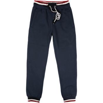 Kleidung Herren Jogginghosen Key Up SF24 0001 Blau