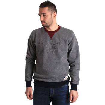 Kleidung Herren Sweatshirts Key Up GF15 0001 Grau