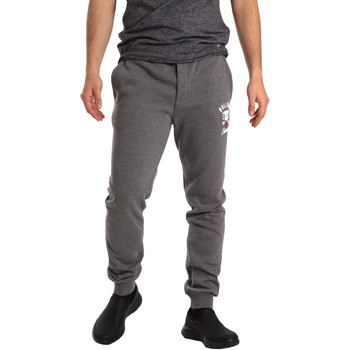 Kleidung Herren Jogginghosen Key Up GF16 0001 Grau