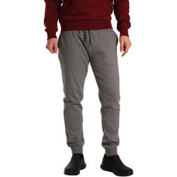 Kleidung Herren Jogginghosen Key Up GV77 0001 Grau