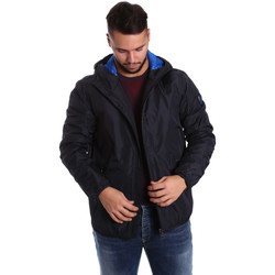 Kleidung Herren Daunenjacken Ea7 Emporio Armani 6YPB34 PN02Z Blau