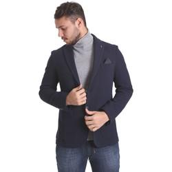 Kleidung Herren Jacken / Blazers Sei3sei PZG9 7291 Blau