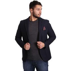 Kleidung Herren Jacken / Blazers Sei3sei PZG12 7296 Blau