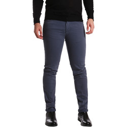 Kleidung Herren 5-Pocket-Hosen Sei3sei PZV16 7239 Blau