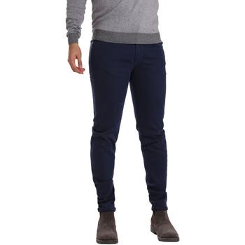 Kleidung Herren 5-Pocket-Hosen Sei3sei PZV17 7257 Blau