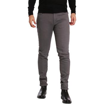 Kleidung Herren 5-Pocket-Hosen Sei3sei PZV17 7257 Grau
