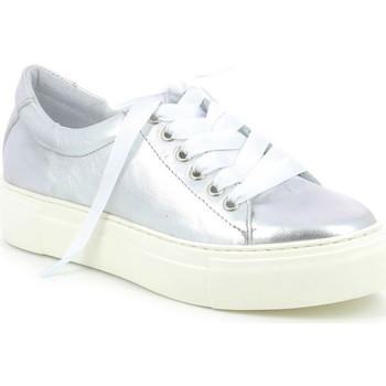 Schuhe Damen Sneaker Low Grunland SC3880 Grau