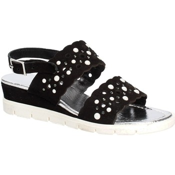 Schuhe Damen Sandalen / Sandaletten Keys 5915 Schwarz