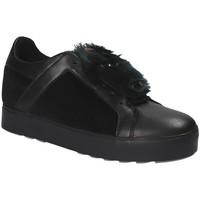 Schuhe Damen Sneaker Low Apepazza RSW03 Schwarz