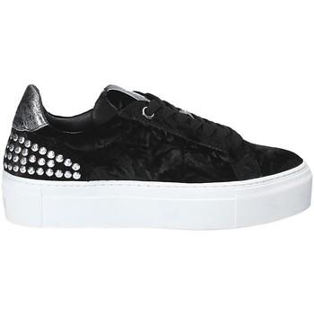 Schuhe Damen Sneaker Low Janet Sport 40912 Schwarz