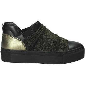 Schuhe Damen Slip on Janet Sport 40904 Schwarz