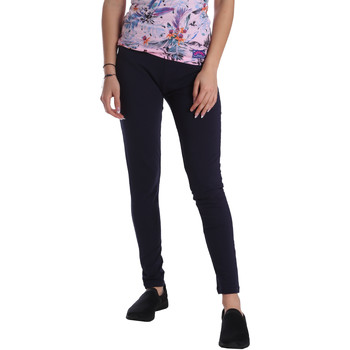 Kleidung Damen Leggings Key Up 095F 0001 Blau