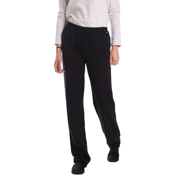 Kleidung Damen Fließende Hosen/ Haremshosen Key Up 549F 0001 Schwarz